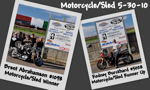 Motorcycle/Sled Winners